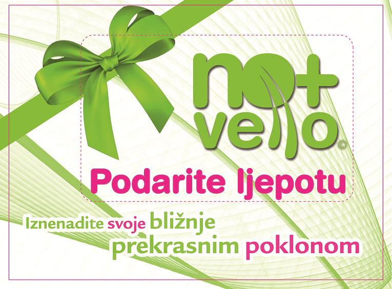 Podarite ljepotu No+Vello